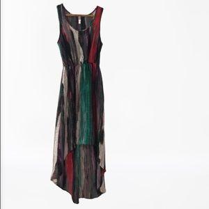High Low Sleeveless Dress Xhilaration Black Purple